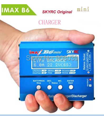 Free Shipping Original Skyrc Imax B6 Mini 60W Professional Balance Charger Discharger lipo charger for rc helicopter quadcopter(China (Mainland))