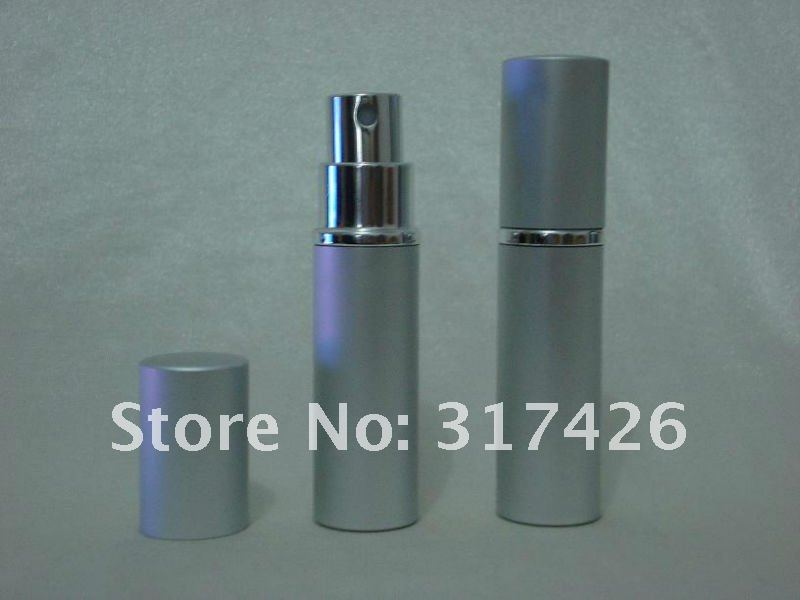 Free Shipping- wholesale 5ml aluminum perfume bottle, Amazing Travel Perfume Atomizer, Refillable Spray,empty metal spray bottle(China (Mainland))
