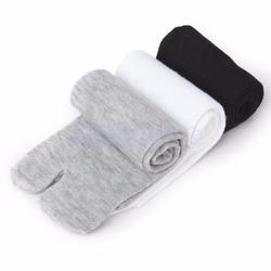 3 Pair Footful Unisex Japanese Kimono Flip Flop Sandal Split Toe Tabi Ninja Socks