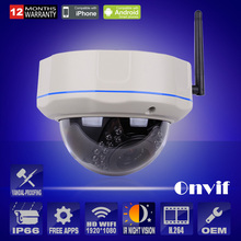 Anran 2.0MP 1080P HD Wireless Camera Indoor Video Surveillance IP Cam Infrared Night Vision Dome Security WIFI CCTV Camera