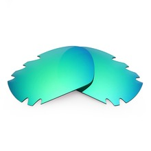 MRY POLARIZED Replacement Lenses for Oakley Jawbone Vented Sunglasses Emerald Green