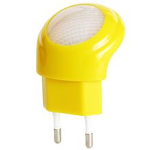 Мини из светодиодов 0.7 Вт управления ночник авто-зонд детские спальни белый ес подключите # KF