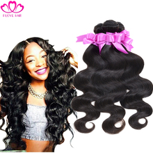 Brazilian virgin hair body wave 3pcs/lot brazilain body wave 8″-30″ unporcessed human hair weave free shipping brazilian hair