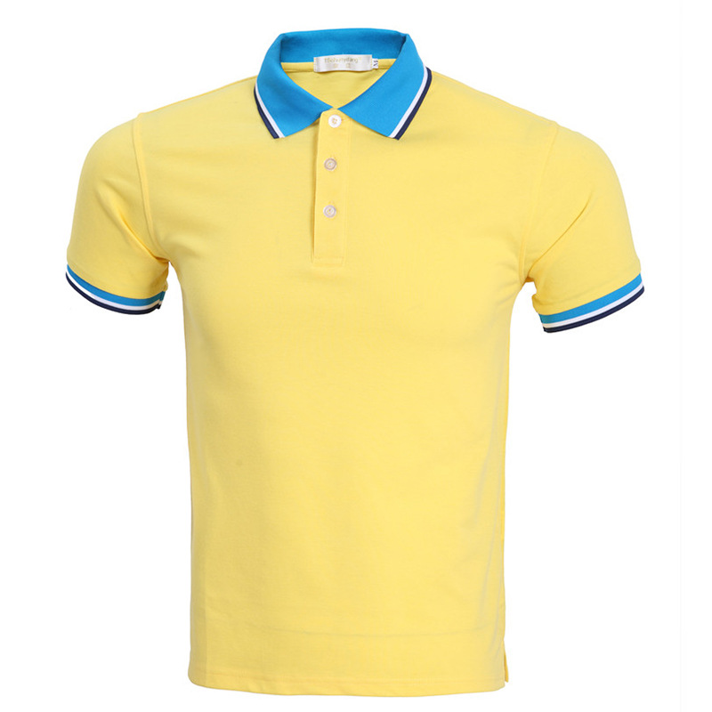 New men polo shirt short sleeve 2016 summer style mens for Plus size golf polo shirts
