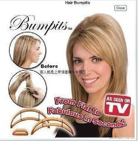 free shipping cost!20box/lot(5pieces/box) , Bumpits popular in the world hair tools, hair care clips as seen on TV,
