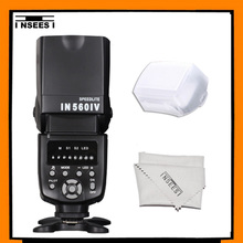 INSEESI IN560IV Wireless Universal LED IN-560IV Flash Speedlite  For Nikon Canon Sony Olympus Pentax Panasonic DSLR Cameras(China (Mainland))
