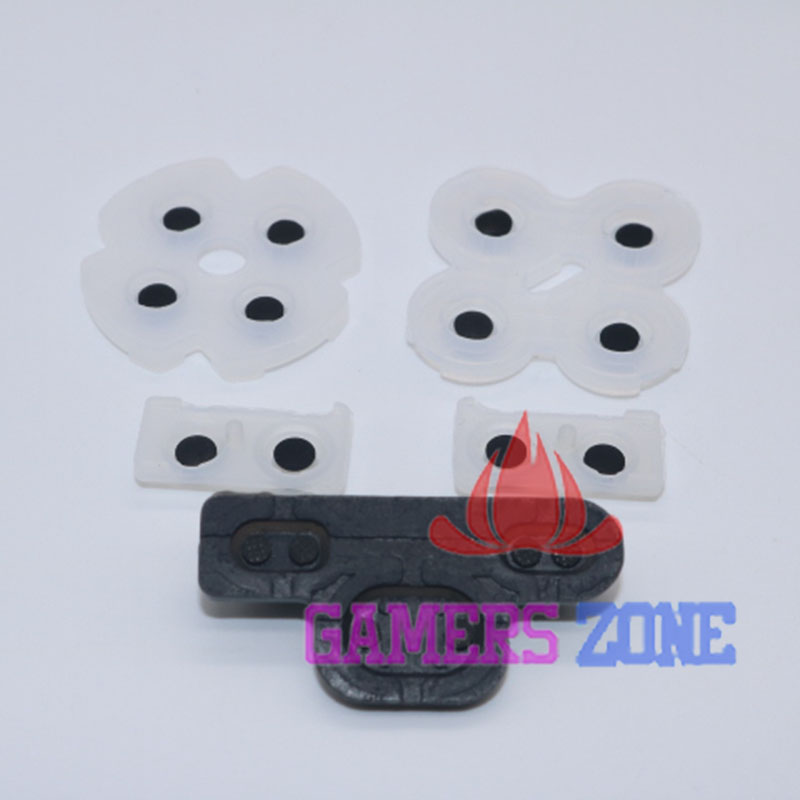 100sets Clear Rubber Conductive Button Pad for PS3 Wireless Controller Replacement <br><br>Aliexpress