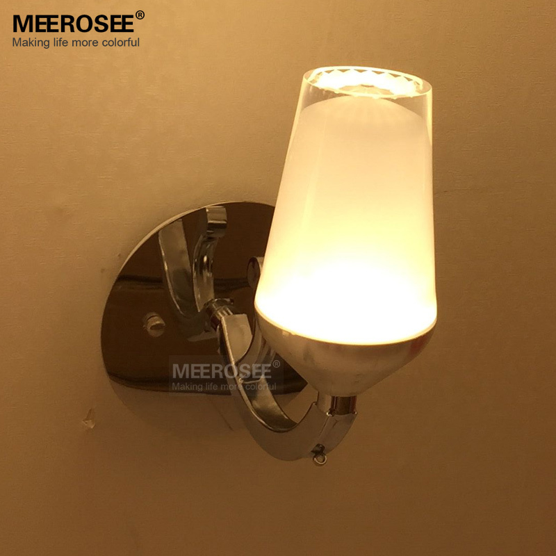 Modern Fashional LED Wall Lamp High Quality White Acrylic Wall Light  With 1 Light For Bedroom, Aisle, Porch, Hallway Decoration(China (Mainland))