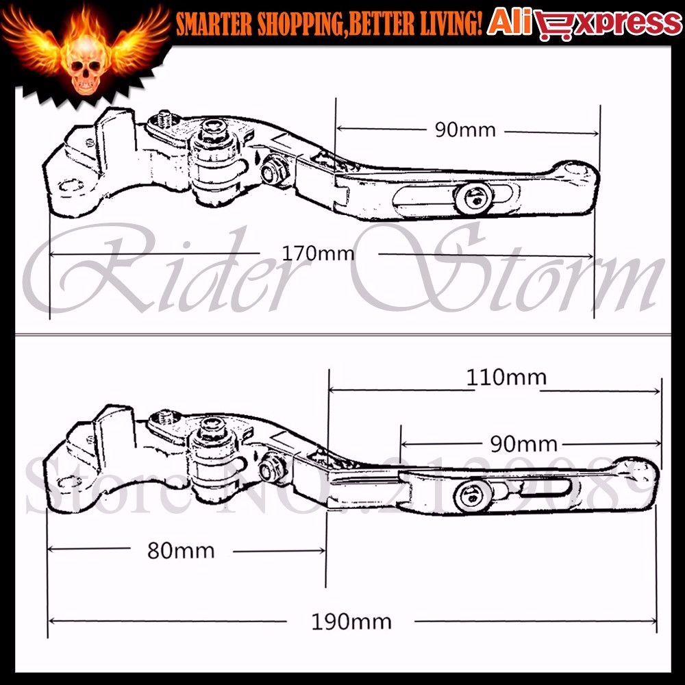 2016 Hot sale For BMW S1000R 2014 (w and w/o CC)CNC Folding Extendable Adjustable Motorcycle Brake Clutch Levers