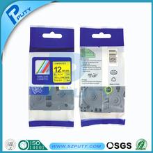 laminated tz tape compatible label tape tz631 tze631 for p touch printer