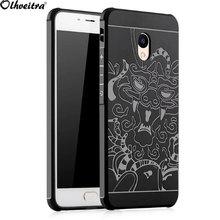 Buy Back cover Meizu M3e Case Original Phone cover Protective Relief Anti-knock Armor Silicon Meizu Meilan E Capa Fundas for $4.74 in AliExpress store