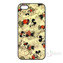 For iphone 4/4s 5/5s 5c SE 6/6s 7 plus ipod touch 4/5/6 cellphone cases cover Classic Cute Mickey and Minnie Beautiful Love