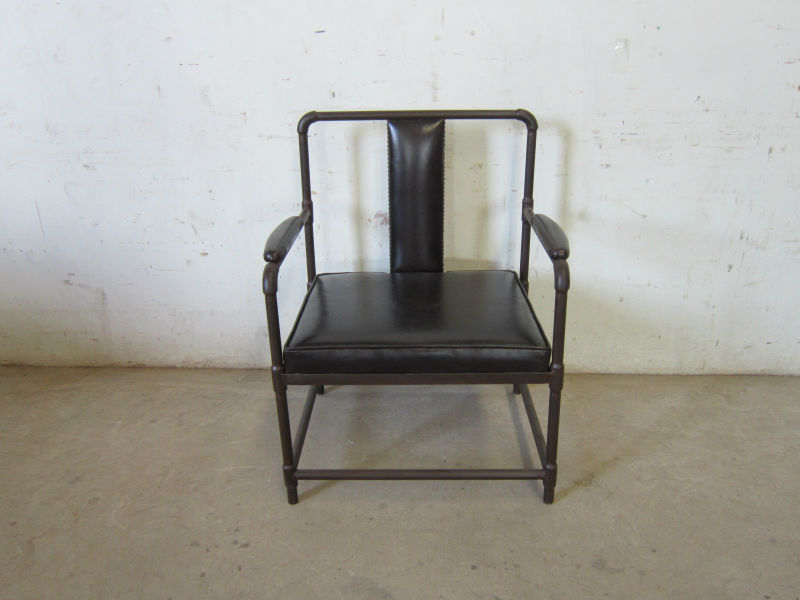 American Village Wrought iron sofa chair desk chair office chair can be customized(China (Mainland))