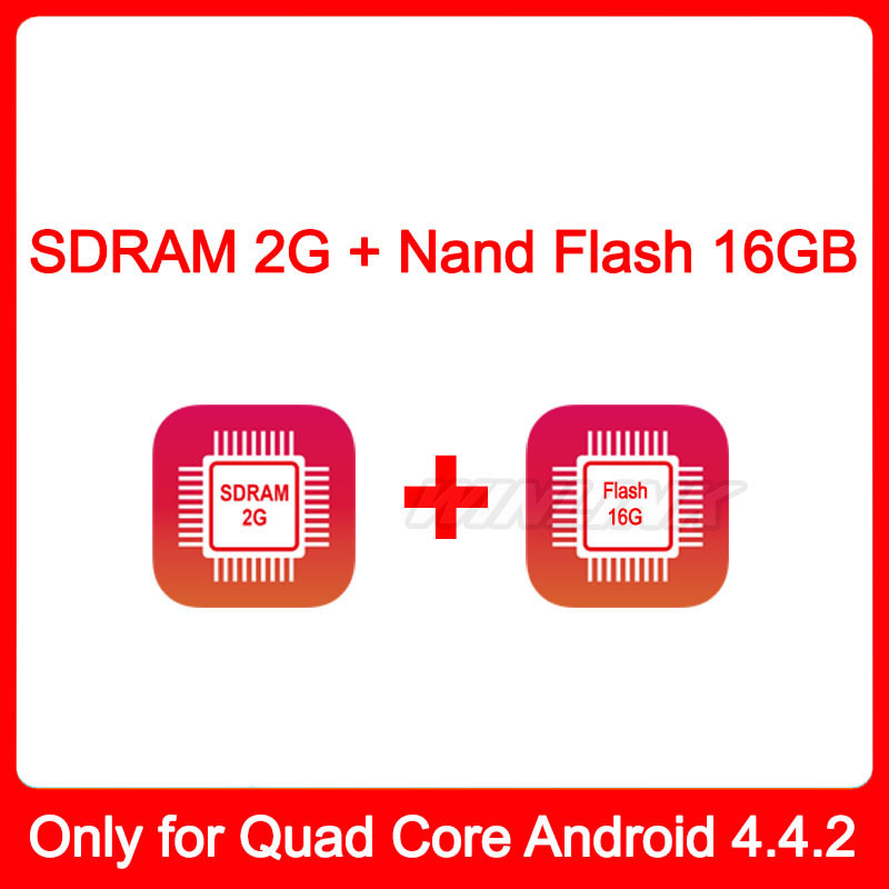 Built-in 2G SDRAM + 16GB Nand Flash, just Sell Quad Core Android 4.4.2 Car DVD - Esson Technology store