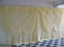 Butterfly Swag Wedding Drape curtain