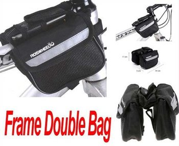 Bicycle Bike Cycling Sport Frame Front Tube Double Side Bag Freeshipping Dropshipping