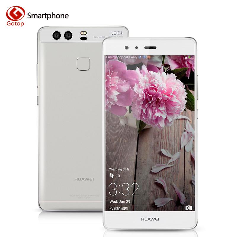 Original Huawei P9 Fingerprint Smartphone 5.2 Inch EMUI 4.1 Hisilicon Kirin955 Octa Core Mobile Phone 3GB RAM 32GBROM Cell Phone(China (Mainland))