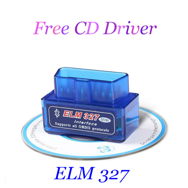 2016 Mini ELM327 Diagnostic Tool ELM 327 Auto Scanner OBD2 Bluetooth for Android Torque OBD 2 Car V2.1 Vehicle Scan Tools(China (Mainland))