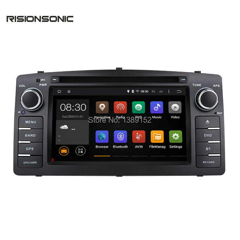 Android 5.1.1 Quad core 2 Din Car DVD GPS For Toyota Corolla E120 BYD F3 with Capacitive screen WIFI 3G GPS USB Car radio(China (Mainland))