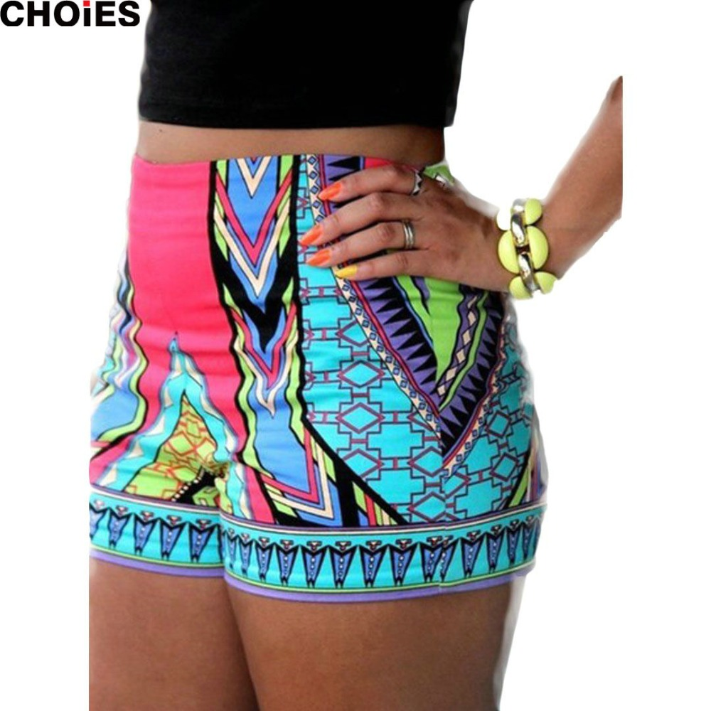 ALIEXPRESS.COM : BUY CHOIES WOMEN SUMMER HIGH WAIST SHORTS ...