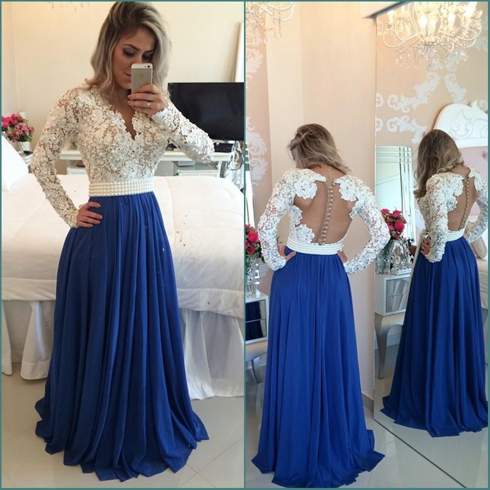 Plus Size Long Prom Dresses