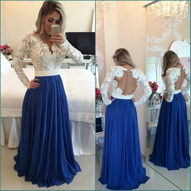 Long Dresses : Long Sleeve Prom Dresses Plus Size Long Sleeve Prom ...