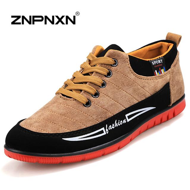 Мода мужской обуви летом прохладно зима теплая кожаные ботинки мужские квартиры ботинки ...