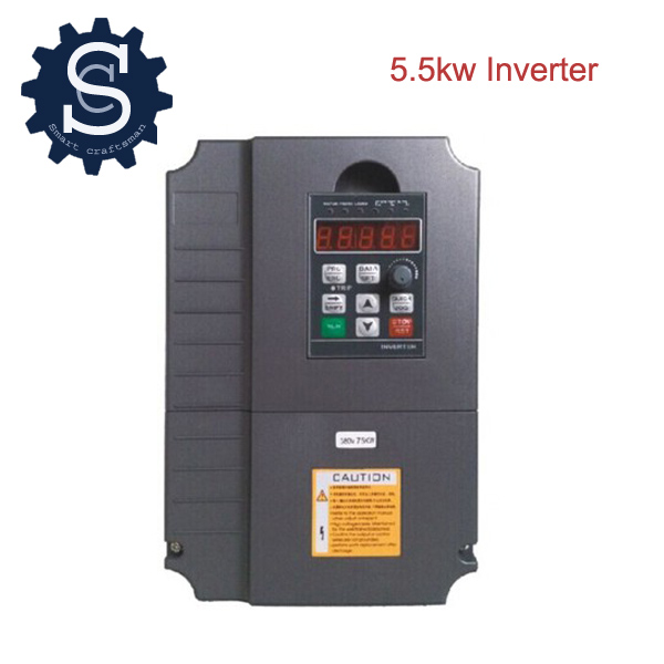 5.5KW 380V Frequency Drive CNC inverter Frequency Drive VFD 3 phase use for 4.5KW spindle inverter<br><br>Aliexpress
