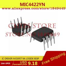 Electronic Voltage Regulator MIC4422YN IC DRIVER MOSFET 9A LOSIDE 8DIP 4422 MIC4422 - Chips Store store