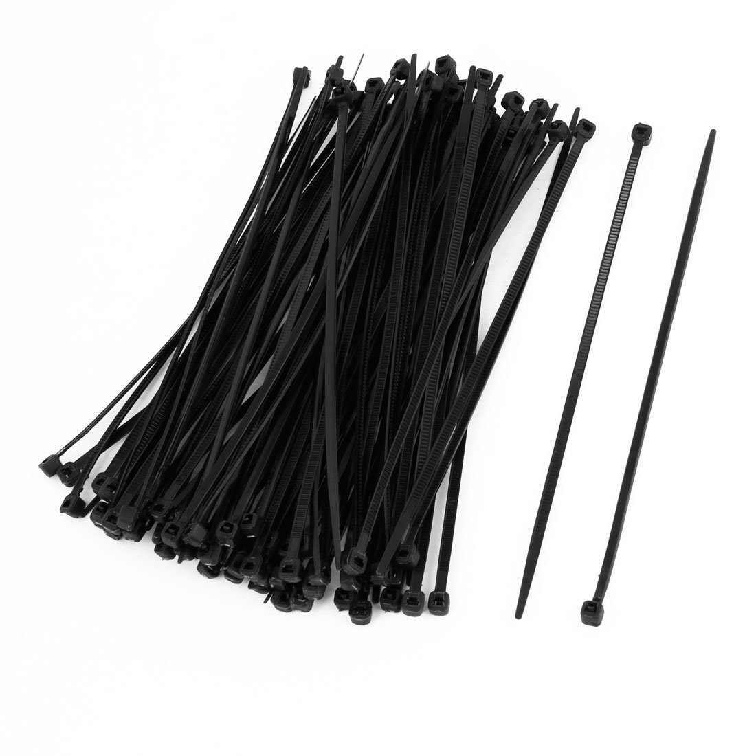 WSFS Wholesale 2 X 100 Pcs 150mm x 2mm Electrical Cable Tie Wrap Nylon Fastening Black<br><br>Aliexpress