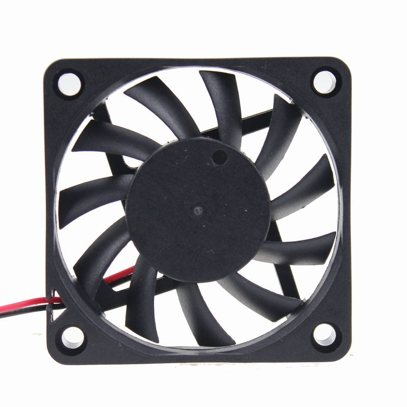 20 pcs/lot GDT DC 5Volt 2Pin 6cm Processor Cooling Fan 60*60x10mm 60mm Cooler 6010 Motor CPU Fan Cooler(China (Mainland))