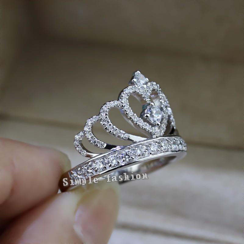 Women Queen Crown Ring