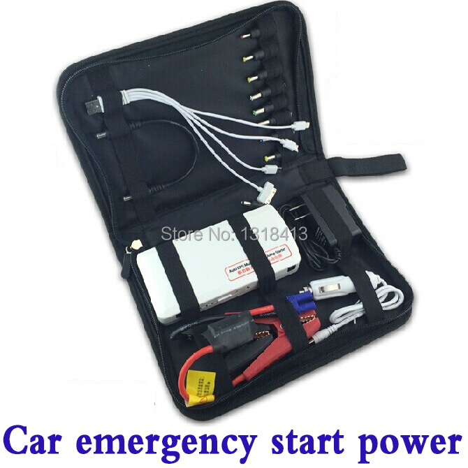 5pcs/lot car power rechargeable battery multifunction car emergency started charger jump start starter universal power bank(China (Mainland))