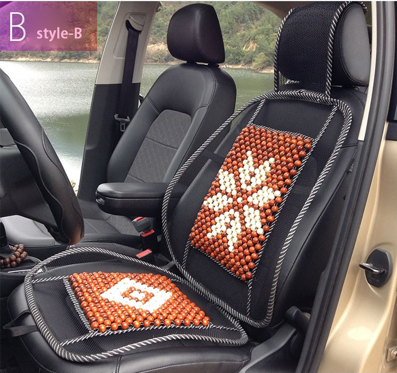 Natural Bamboo Auto Car Seat Cover Seat Cushion Cooling