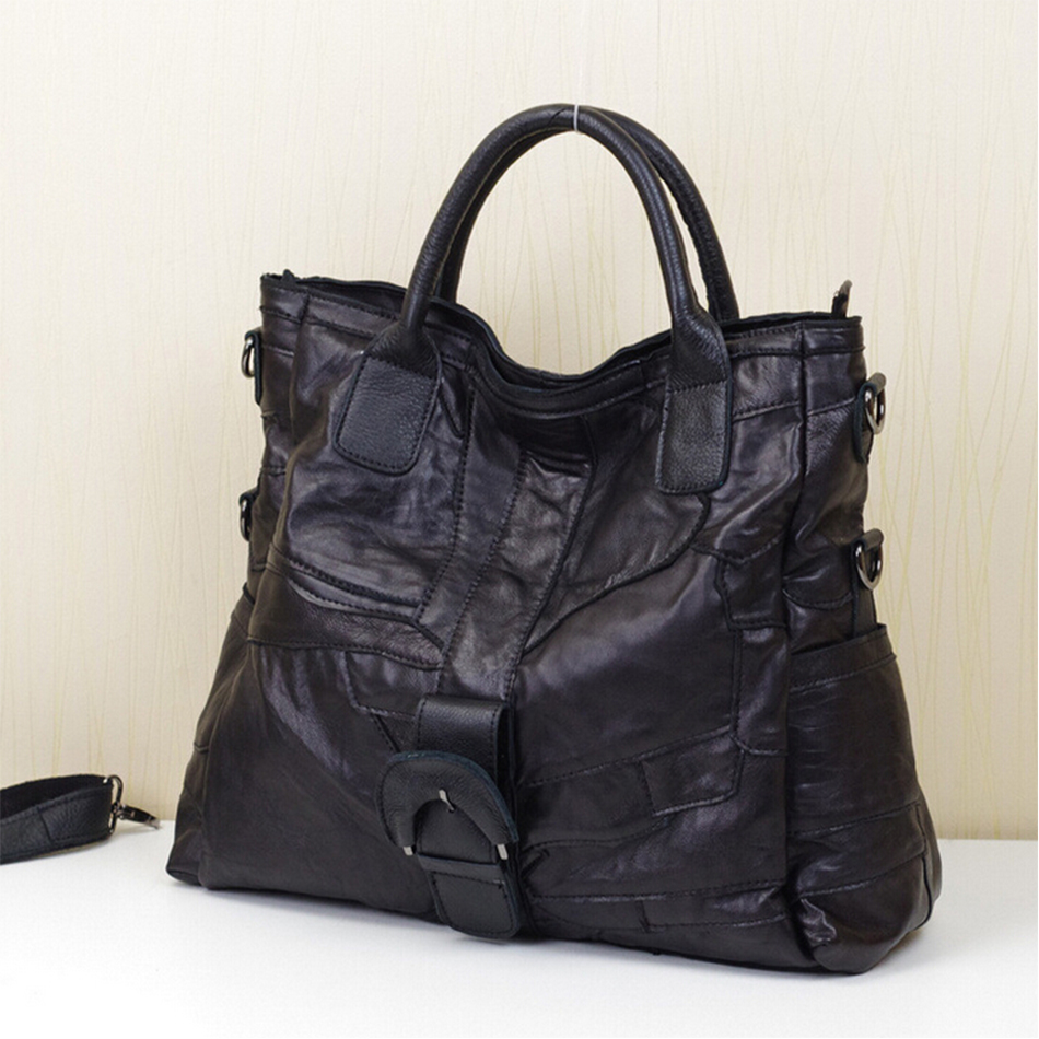 Luxury Handbags Pleated Irregular Women Genuine Sheep LeatherBags Top Messenger Bags Famous Top-Handle Bags Ladies Hangbag(China (Mainland))