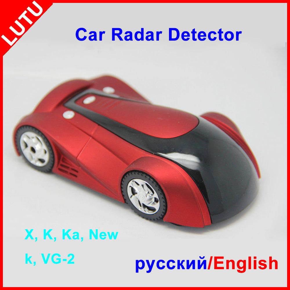 New Arrival Car styling 360 Degree Car Radar Detector Russian And English Car Anti Radar Detector Multi Band Detector De Radar