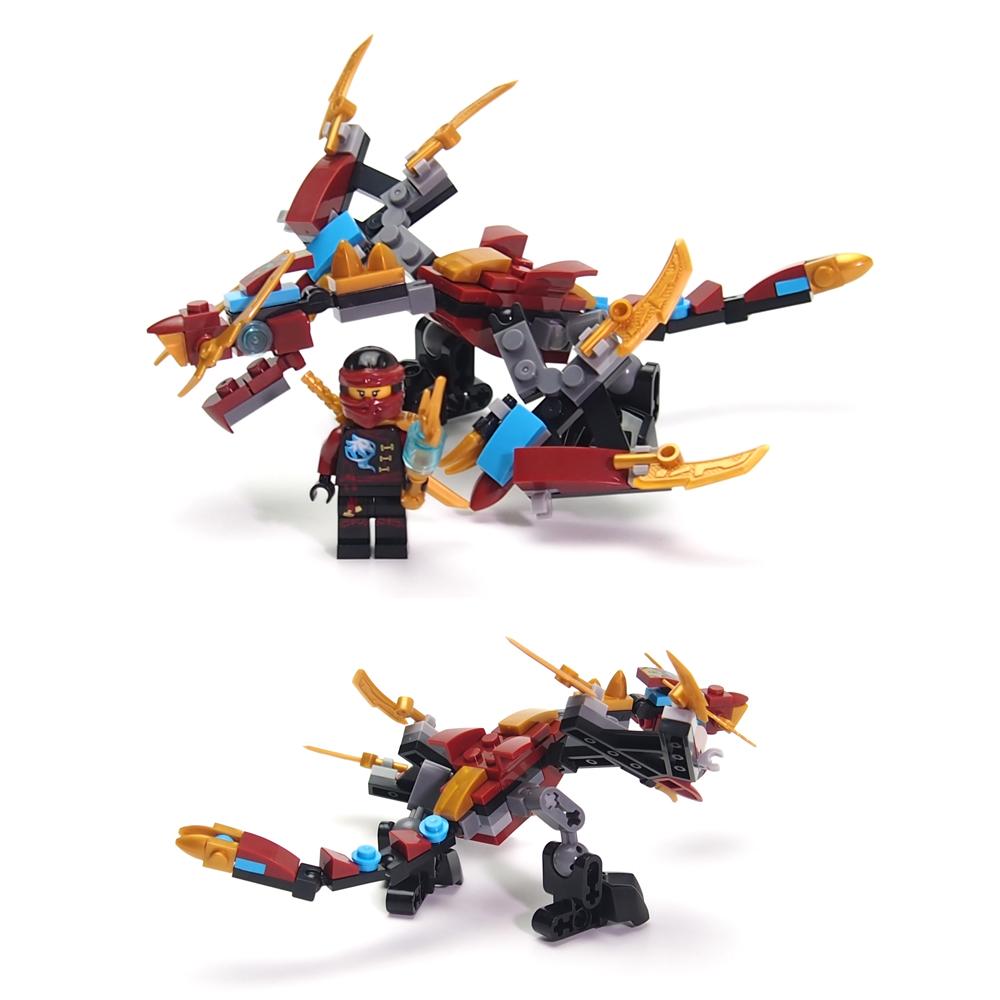 Ninjagoes Dragon Building Block KAI JAY COLE ZANE Lloyd WU NYA GARMADON Ninja Toys Compatible Lepin(China (Mainland))