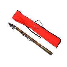 portable telescopic pole carbon Spinning rock fishing rod with carp fishing pesca fishing tackle Fishing Pole Ultra Light