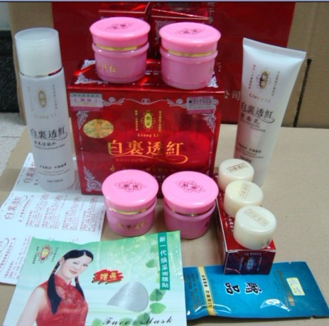 New packaging special a beautiful rosy quadruple send cleanser and Nutrition renewing water new bottling<br><br>Aliexpress