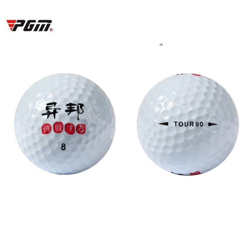 PGM 10 PCS Golf Balls Beginners Practice Driving Range Training Double Layer Ball Rubber(China (Mainland))