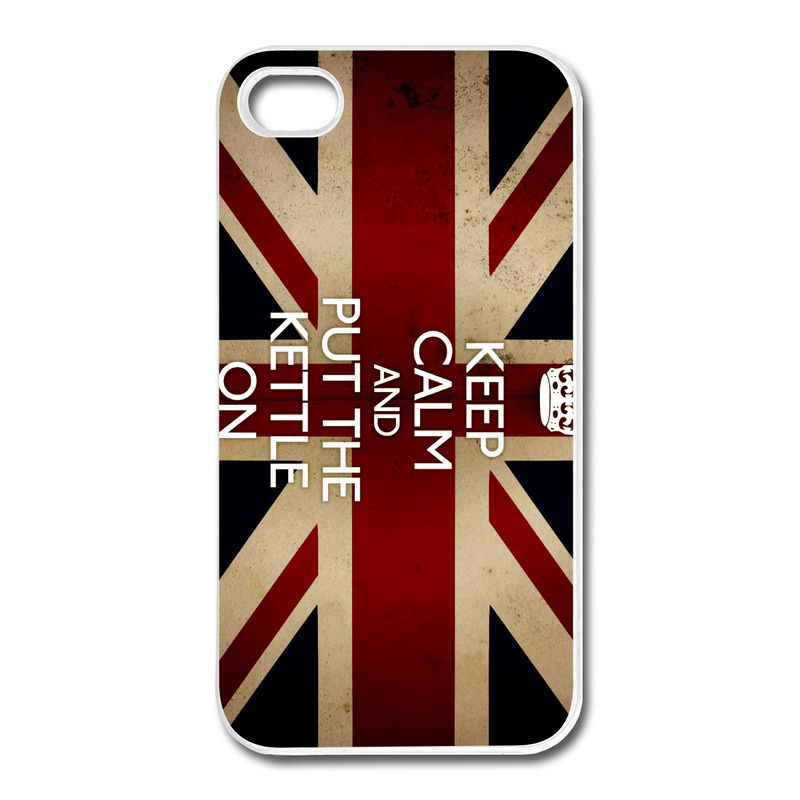 For Iphone Case 4s Customized Funny keep calm and put the kettle on Couples Texts 4 Covers No Minimums(China (Mainland))