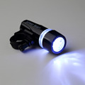 1pcs Lamp Black Bike Bicycle 5 LED Power Beam Front Head Light Headlight Torch New arrival