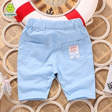 summer female male baby capris open file shorts baby girls boys knee-length casual shorts infant thin outdoor shorts(China (Mainland))