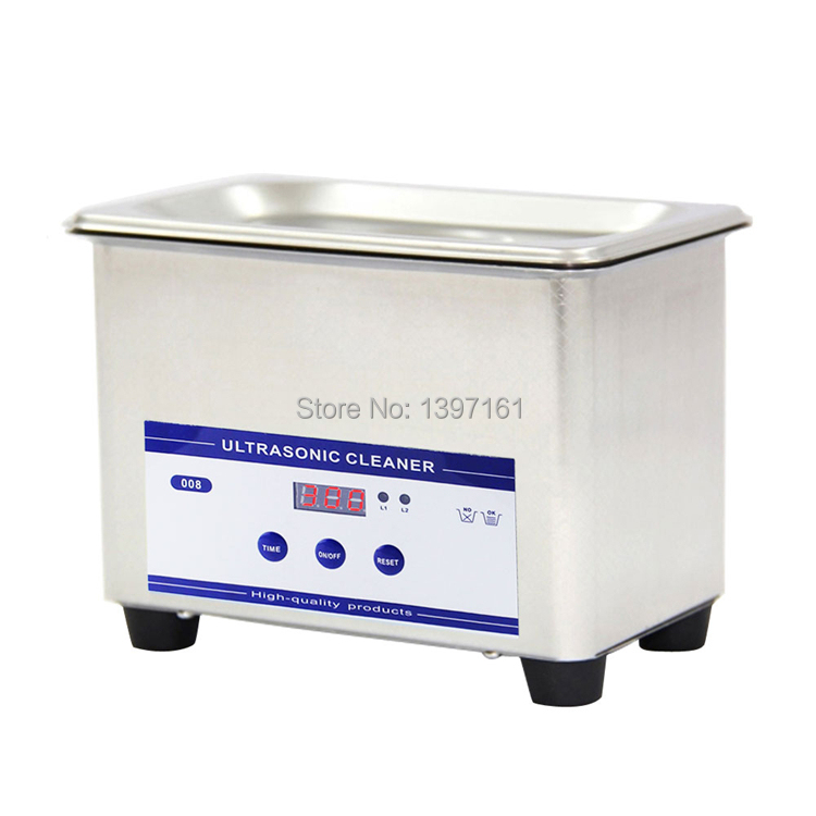 Free shipping~~~ 0.8L Best ultrasonic jewelry cleaner(China (Mainland))