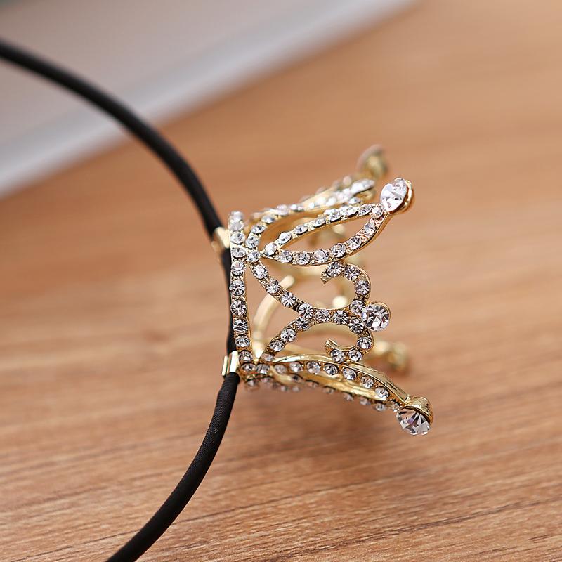 Crown Designs Wedding Tiara Diamante Gold Plated Crystal Rhinestone Hair Combs Headband Headpiece Bridal Jewelry Accessories HOT(China (Mainland))