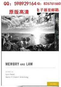Memory and Law by Lynn Nadel(China (Mainland))