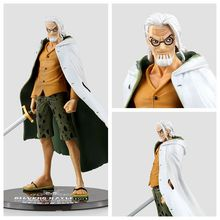 17cm Japanese Anime One Piece Toys Figures Silvers Rayleigh Action Figures PVC Model Gifts Free Shipping