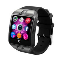 Bluetooth Smart Wrist Watch Phone Q18 with Camera FM Radio TF SIM Card Slot Sleep Monitor Sedentary Reminder Voice Record