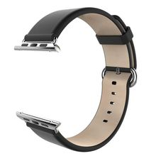 38mm/42mm RV77 Apple Watch Band Genuine Leather Strap Smart Watchband-Classical Series for Apple Watch & Sport