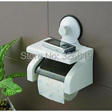 Free shipping Shuangqing SQ 1800 strong suction cup waterproof roll holder paper towel holder tissue box(China (Mainland))
